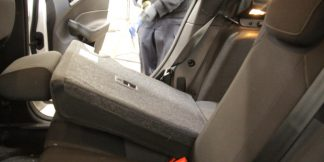 interior seats being shampooed at our shop